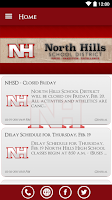 Screenshot of North Hills School District