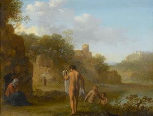 RIJKS: Cornelis van Poelenburch: painting 1646