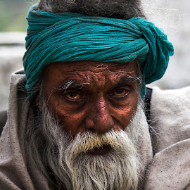Those Eyes by Ankit Mohan - People Portraits of Men ( men people old portrait )