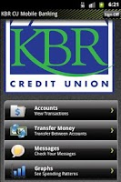 Screenshot of KBRCU Mobile Banking
