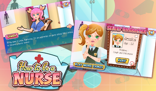 Nurse Kid Care - screenshot