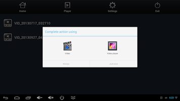 Screenshot of Mirage UPnP/DLNA Free