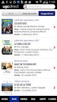 Screenshot of UGC Direct - Films et Cinéma