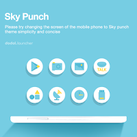 Screenshot of Sky Punch dodol theme