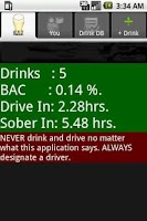 Screenshot of Blood Alcohol Content Calc