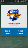 Screenshot of Mister Calcio Cup