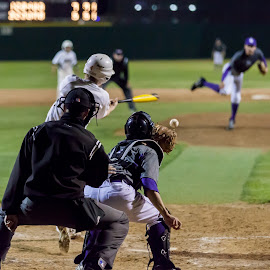 A miss under the lights by Bob Lewis - Sports & Fitness Baseball (  )