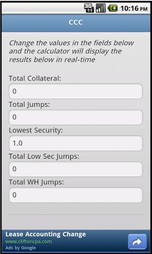 Courier Contract Calculator