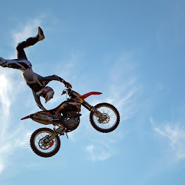 Bike stunt by Warren Keith Dick - Sports & Fitness Motorsports