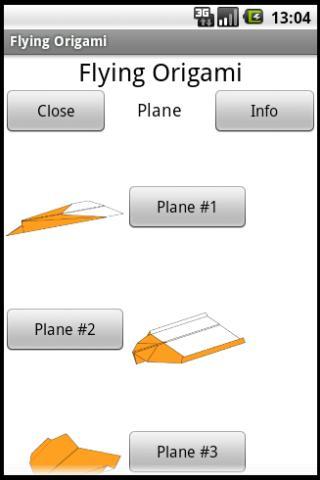 折り紙フライング