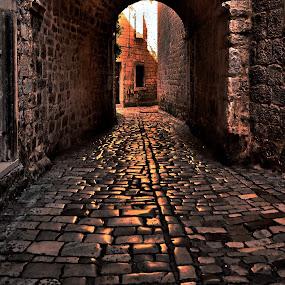 Trogir / Croatia by Dado Barić - City,  Street & Park  Neighborhoods ( dalmacija, street, croatia, trogir, dalmatia, hrvatska )