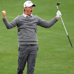 Victory by Eric Smith - Sports & Fitness Golf ( pya, sho final round, texas, houston, golf, pya tour, shell houston open, matt jnes )