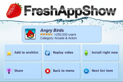 freshappshow-video-app-reviews for android screenshot