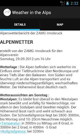 Alp Weather