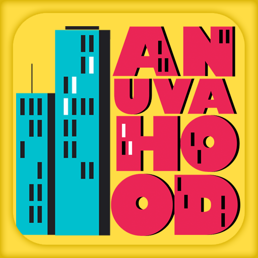 Anuvahood LOGO-APP點子
