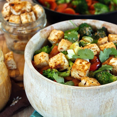 Broccoli Peanut Ginger Stir Fry
