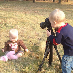taking portraits by Chuck Holton - Babies & Children Children Candids ( child, blonde, funny, baby, cute )