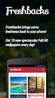 Screenshot of Freshbacks - Daily Wallpapers