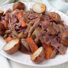 Vegan Corned Beef and Cabbage