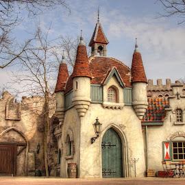 Efteling Castle by Wijnand Kroes - City,  Street & Park  Amusement Parks ( efteling, hdr, magical, castle, netherlands )