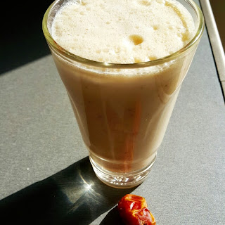 Dates Almond Milkshake