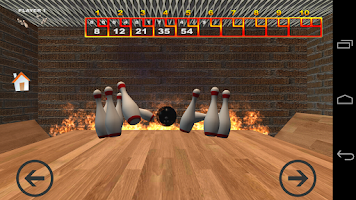 Screenshot of Real Bowling 3D