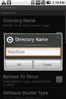 Screenshot of SilentCam Pro