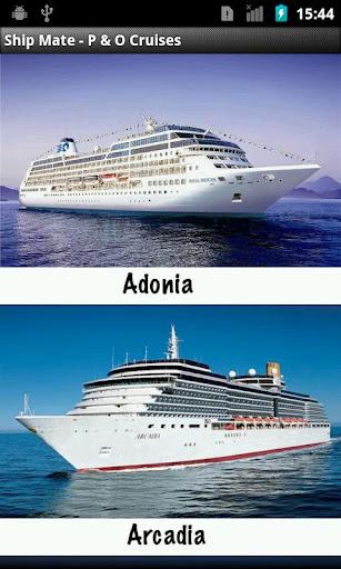 Ship Mate - P O Cruises
