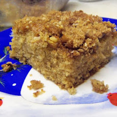 Overnight Crunch Coffee Cake