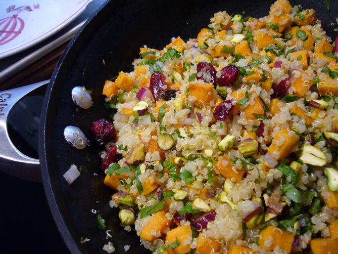 Sweet Potato Quinoa Salad Recipe   Yummly