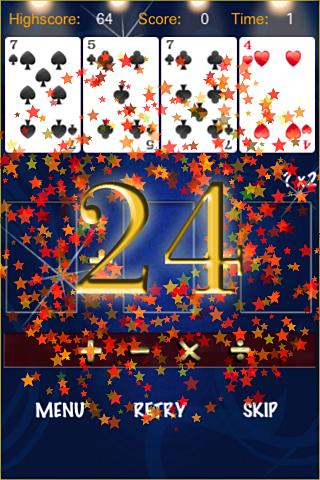 24-math-games-free for android screenshot