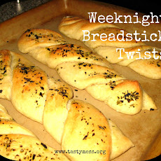 Weeknight Breadstick Twists