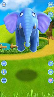 Talking Elephant APK for Bluestacks