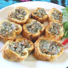 Pecan and Blue Cheese Bites