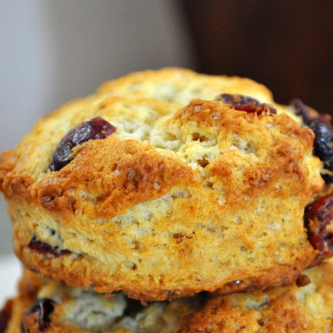 Cranberry Orange Biscuits