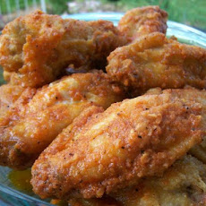 Buffalo Wings With Greek Yogurt Dip