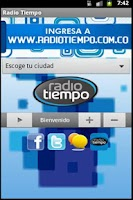 Screenshot of Emisora RadioTiempo