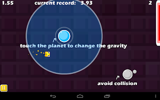 Screenshot of Wacky Gravity Lite Game