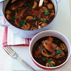 Sausage and Guinness casserole
