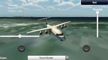 Screenshot of Flight Simulator Pro