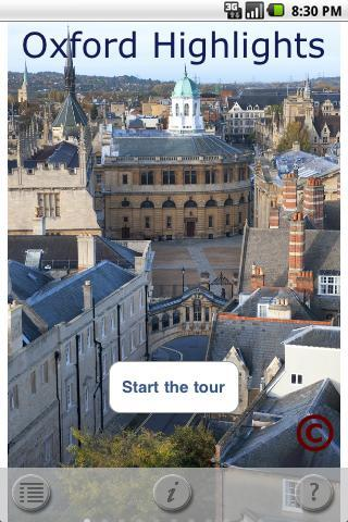 Oxford Highlights Walking Tour