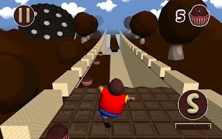 Screenshot of Running Game Yum in Chocoland