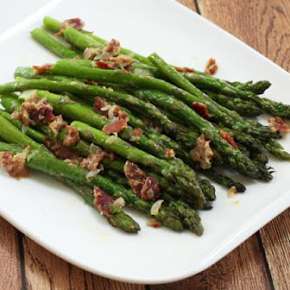 Easy Asparagus With Bacon and Mustard
