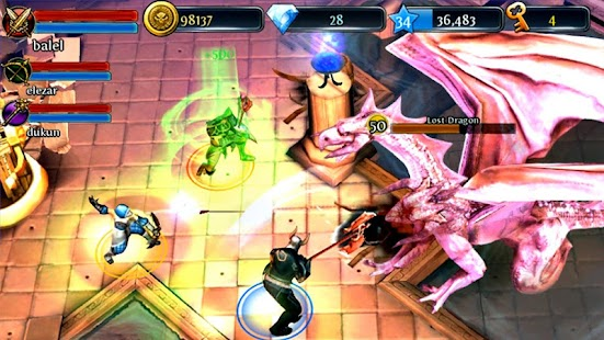 Free Dungeon Hunter 3 APK for Windows 8