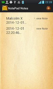 Notepad Notes - screenshot