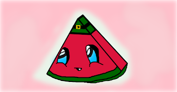 Kawaii leprechaun (watermelon :DD)