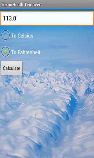 Celsius and Fahrenheit Convert