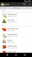 Screenshot of Gifted - Gift List Manager