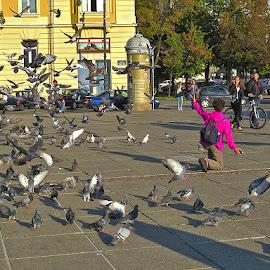 Kako je ova gđa. Turistkinja izrazila svoju by Katica Pecigoš-Kljuković - News & Events Entertainment ( bundekfest, ringišpil, baloni )