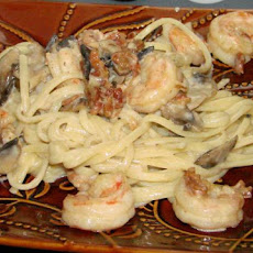 Nymphadora's Shrimp Carbonara